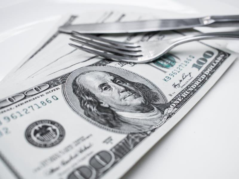 Dólares americanos americanos imagens de stock