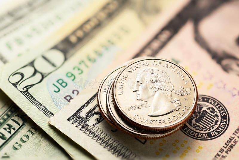 Download Dólares Americanos E Centavos Imagem de Stock - Imagem de pagamento, heap: 80102189