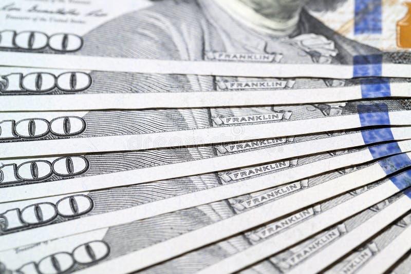 Dólares americanos, primer fotografía de archivo