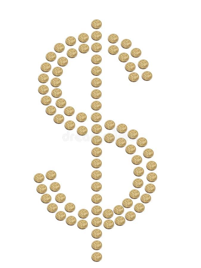Dólares australianos imagen de archivo