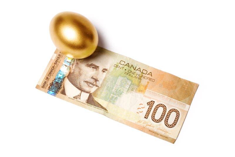 Dólares canadianos imagem de stock