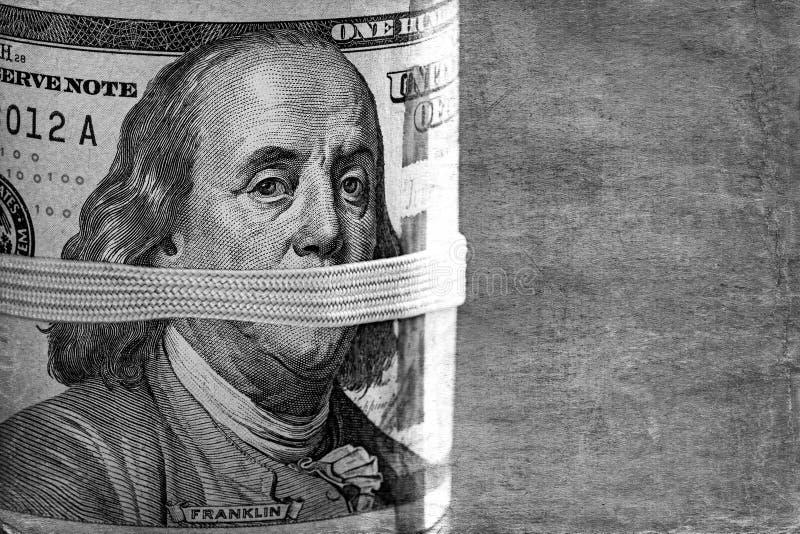 Dólares cerrados foto de archivo