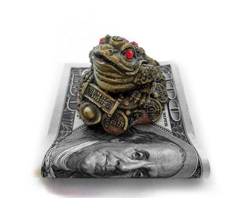 Dólares de inversión de las finanzas del dinero foto de archivo