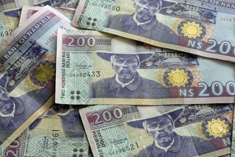 Dólares de Namibia fotos de archivo