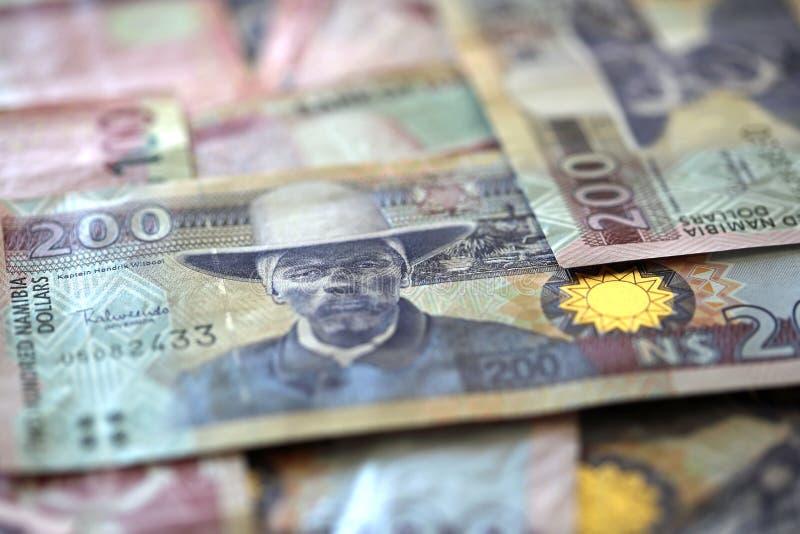 Dólares de Namibia foto de archivo