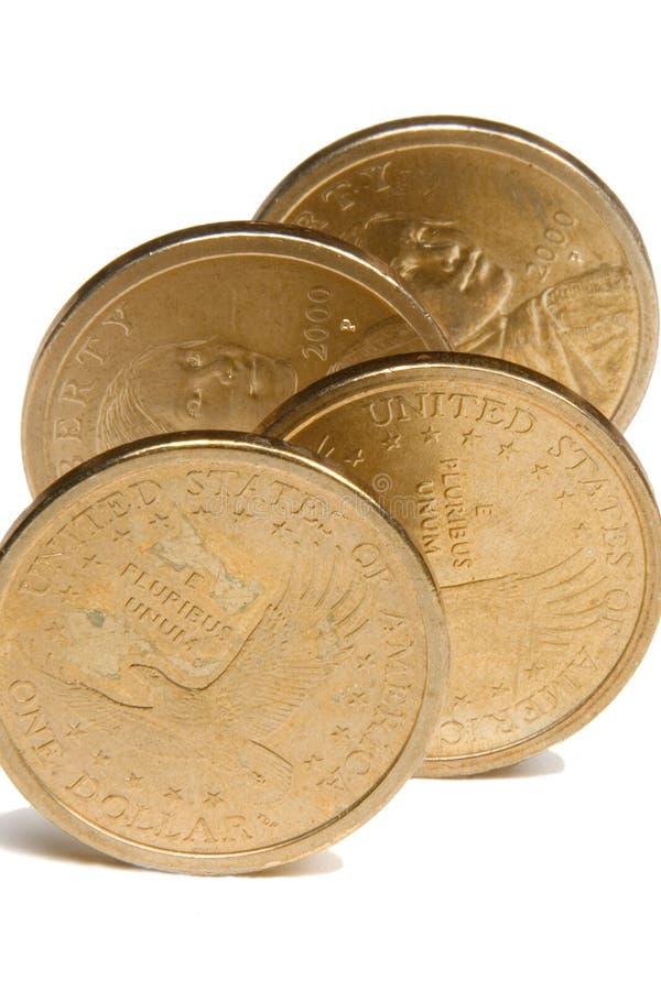 Dólares De Oro De #2 Fotos de archivo libres de regalías