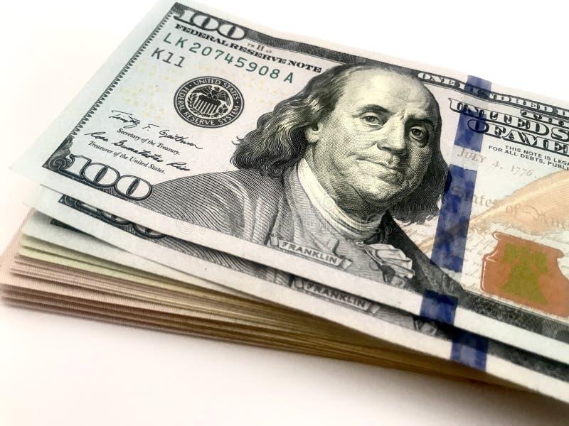 Dólares, dinheiro, dinheiro imagem de stock