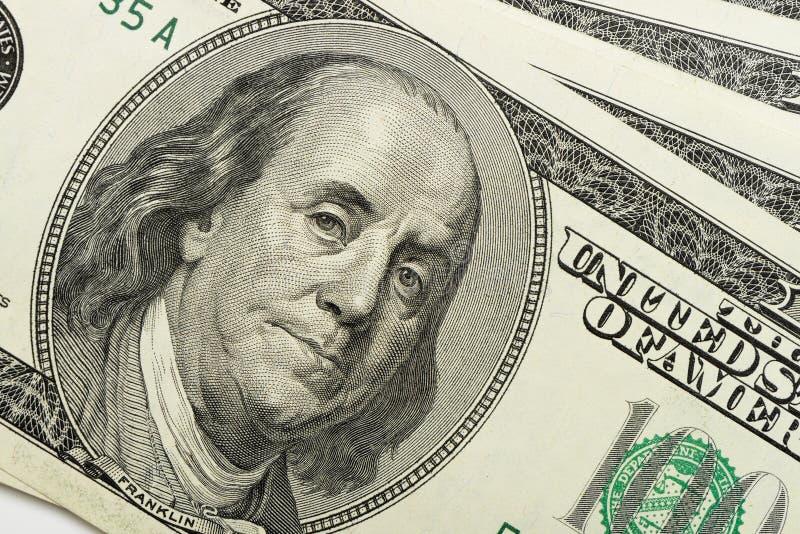 Dólares do close up imagem de stock royalty free