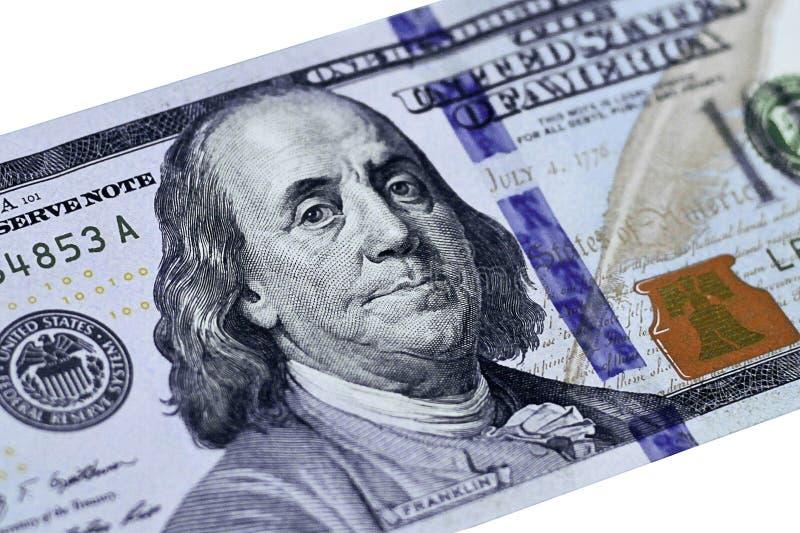 Dólares do close up imagens de stock royalty free
