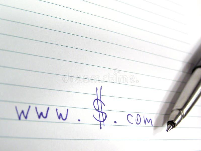 Download Dólares Do Dotcom Do Dinheiro Imagem de Stock - Imagem de ponto, finanças: 535441