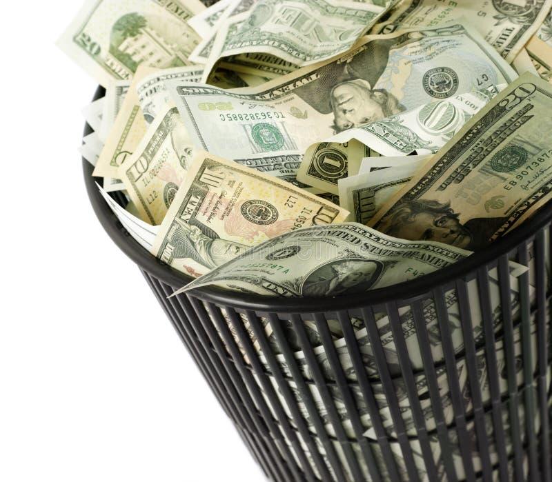 Dólares do escaninho fotos de stock