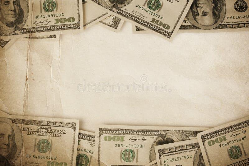 Dólares do frame foto de stock royalty free
