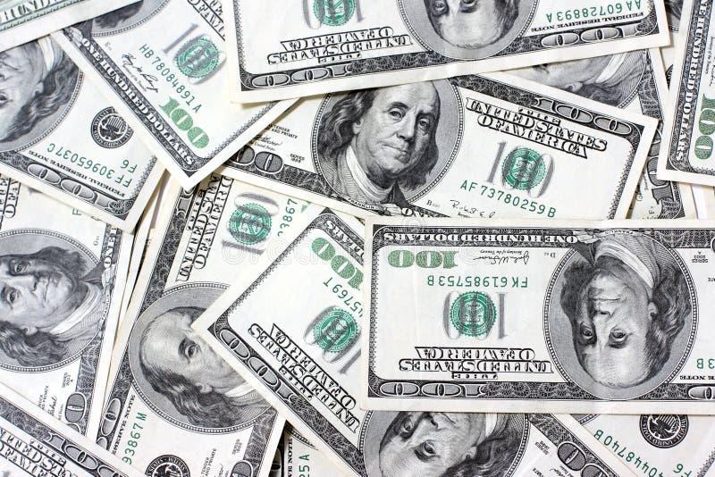 Dólares dos fundos. imagens de stock