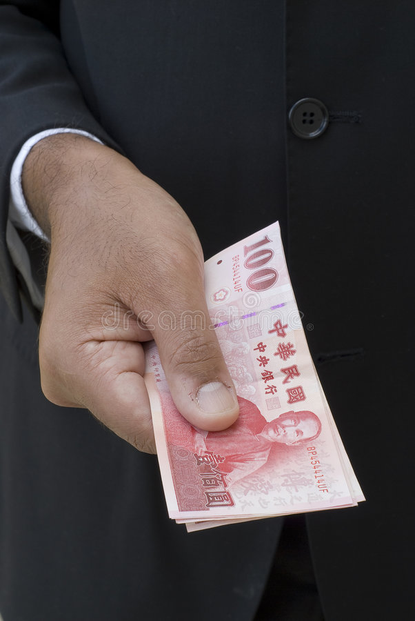 Dólares taiwaneses imagem de stock royalty free