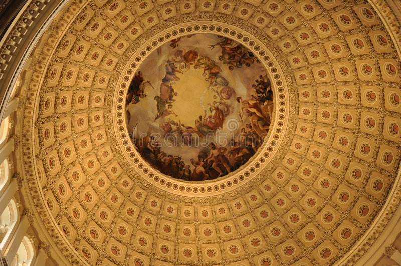 Dôme de capital des Etats-Unis photos libres de droits