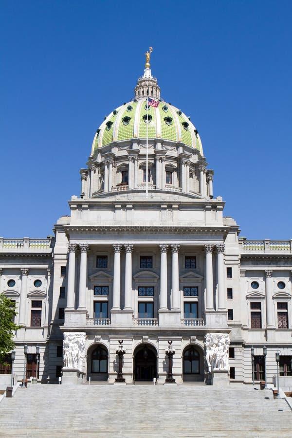 Dôme de capitol de la Pennsylvanie images stock