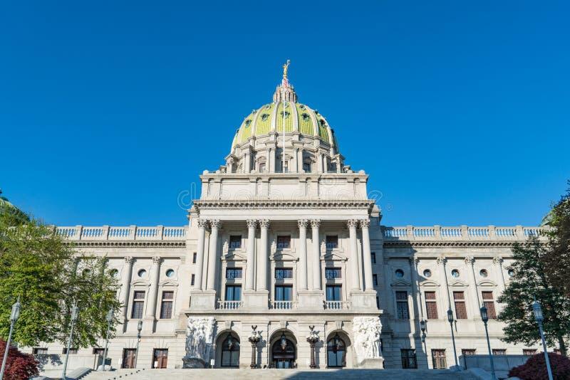 Dôme de capitol de la Pennsylvanie photos libres de droits