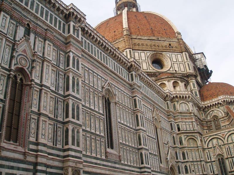 Dôme de Florence image libre de droits
