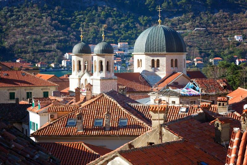 Dôme de saint orthodoxe Nicholas Church photo libre de droits