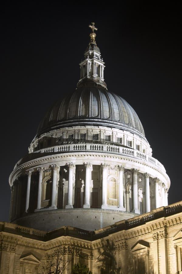 Dôme De St Paul, Ville De Londres Images libres de droits
