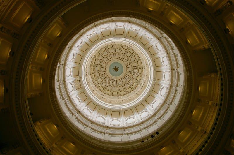 Dôme du capitol d'Austin, le Texas image stock