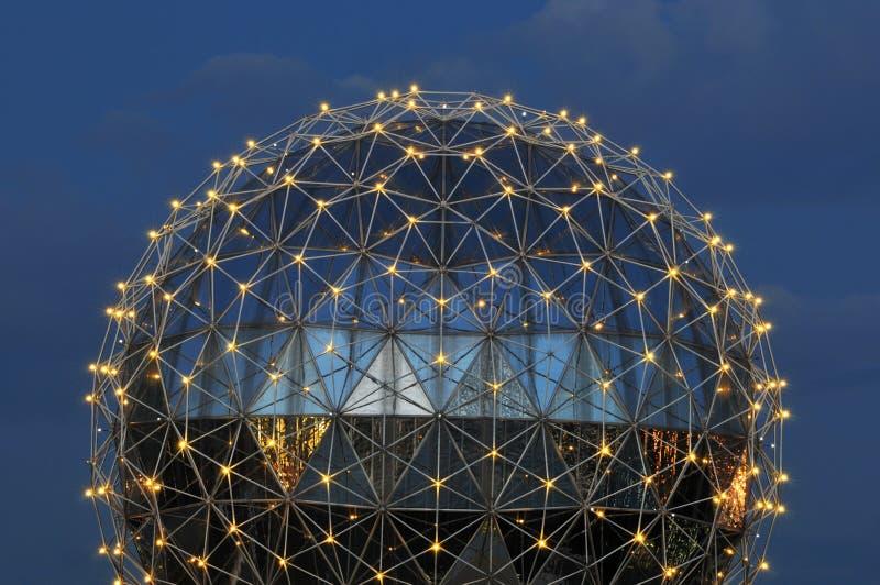 Dôme du monde de la Science photo libre de droits