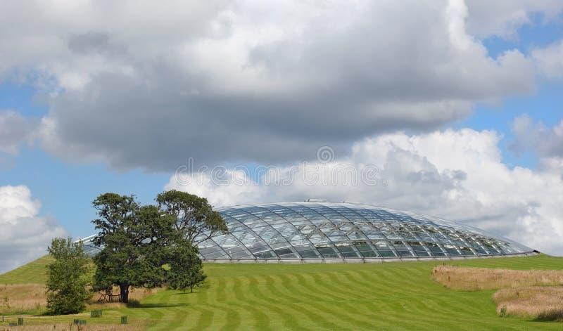Dôme futuriste d'Eco photos stock