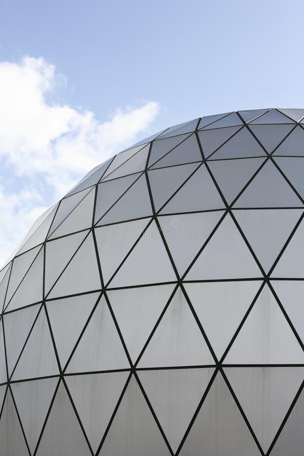 Dôme moderne d'architecture photographie stock libre de droits