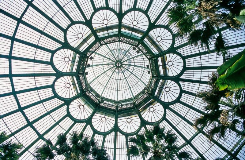 Dôme royal de serre chaude photographie stock libre de droits
