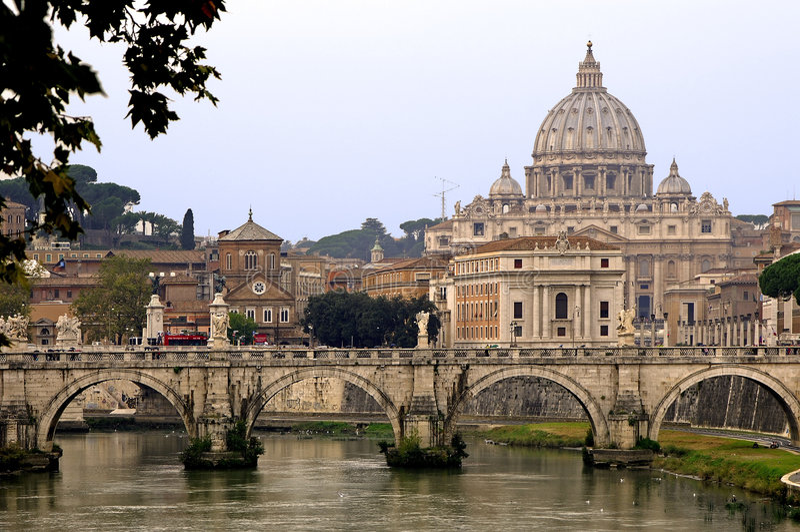 Dôme Vatican Rome de St.Peter image stock
