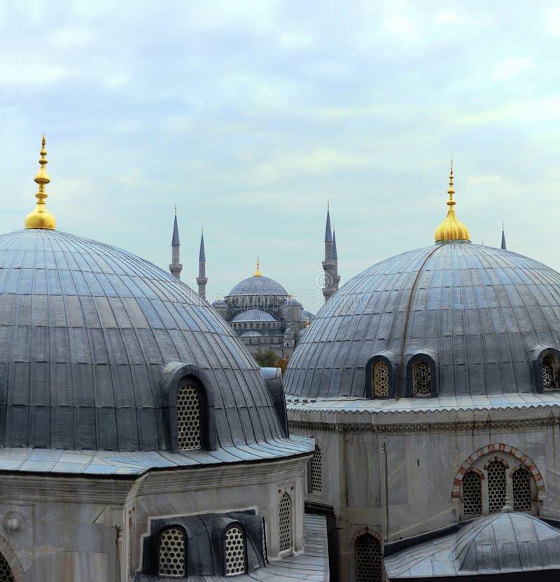 Dômes d'Istanbul photographie stock