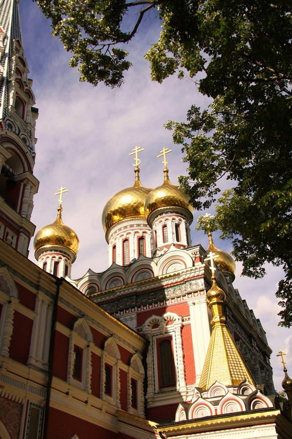 Dômes d'or russes images libres de droits