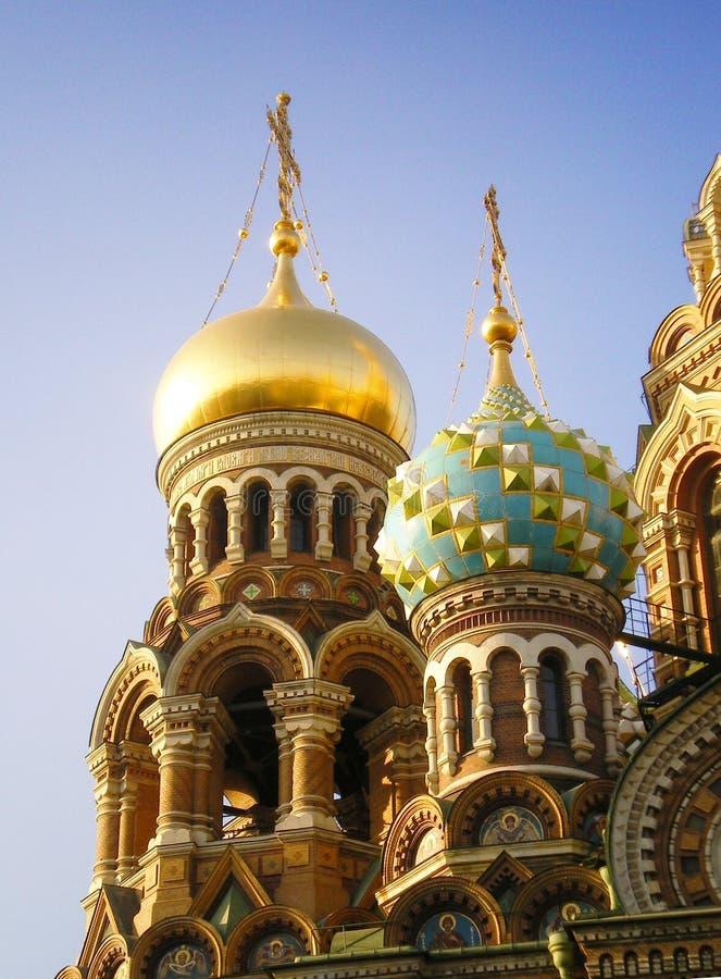 Dômes de l'église. image libre de droits