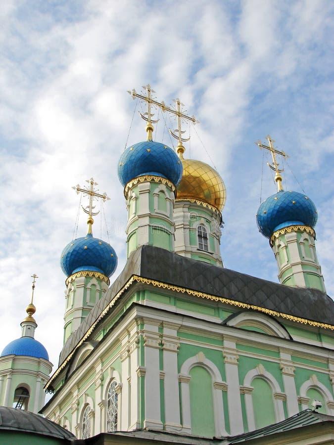 Dômes orthodoxes photos stock