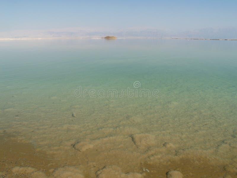död israel havssikt royaltyfria bilder
