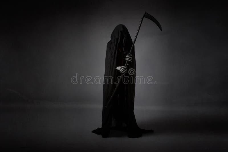 Död med skäran arkivfoto
