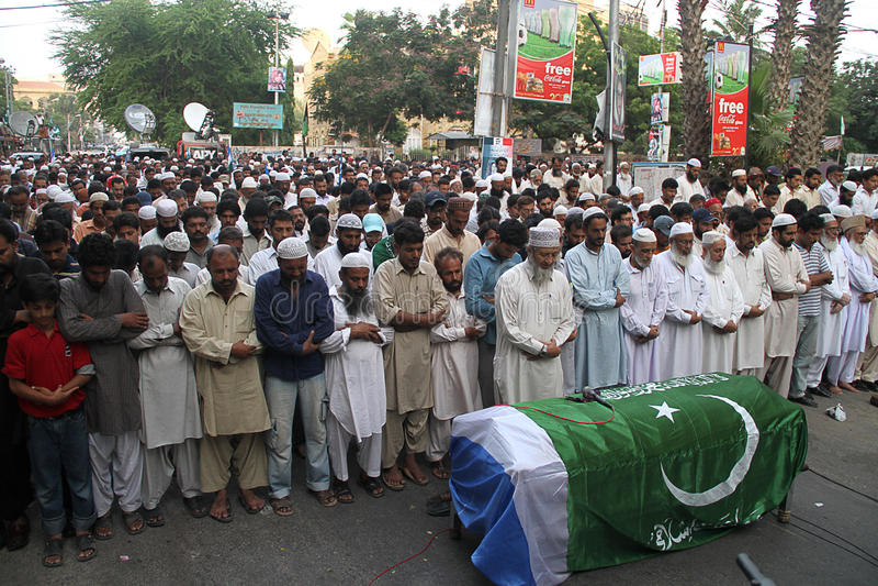 döda pakistan royaltyfria foton
