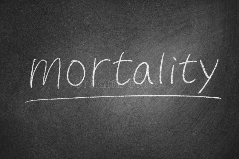 dödlighet arkivbild