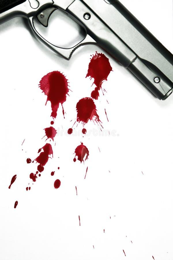 dödligt vapen fotografering för bildbyråer