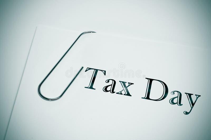 Skattdag arkivfoton