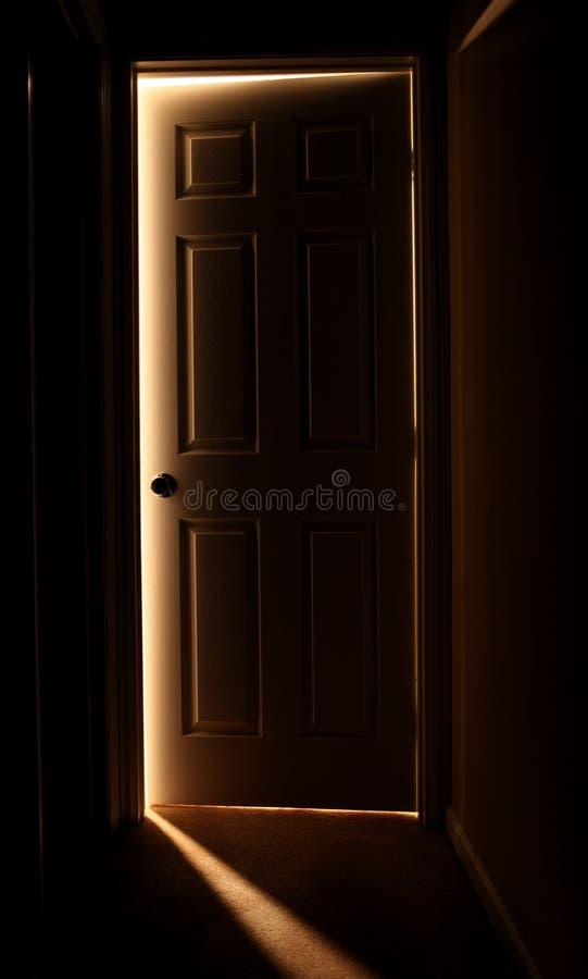 dörröppning fotografering för bildbyråer