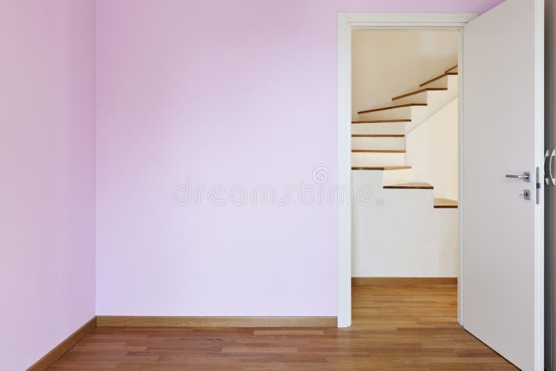 dörr av den rosa lokalen arkivbilder