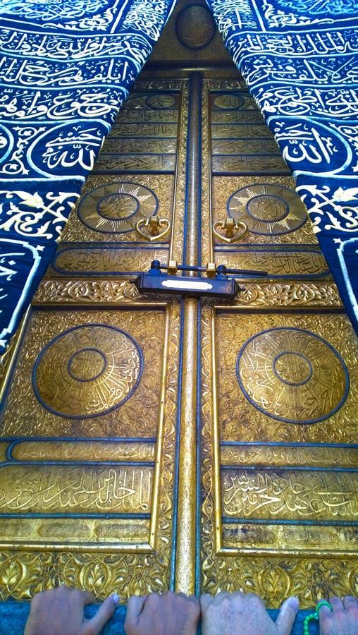 Dörr av Kaaba arkivbild