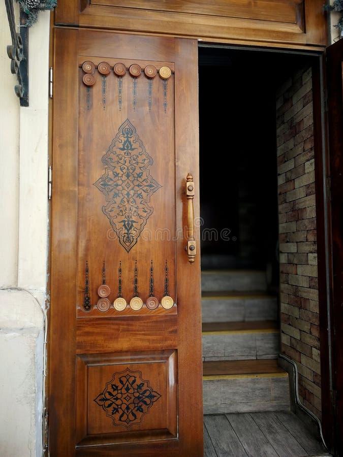 Dörr i Azerbajdzjan royaltyfri fotografi