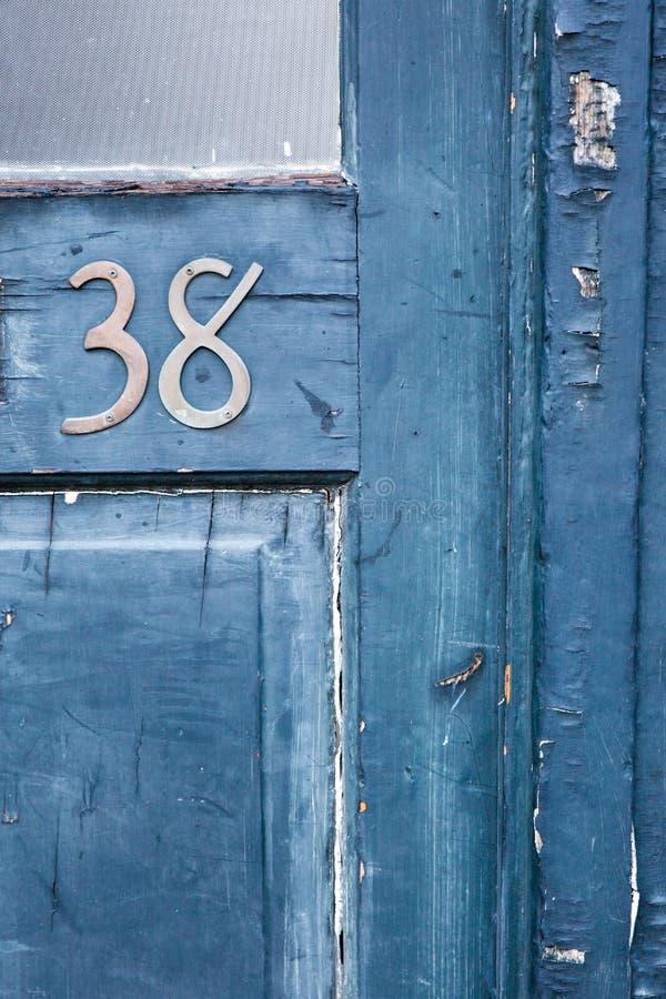 Dörr nummer 38 arkivbild