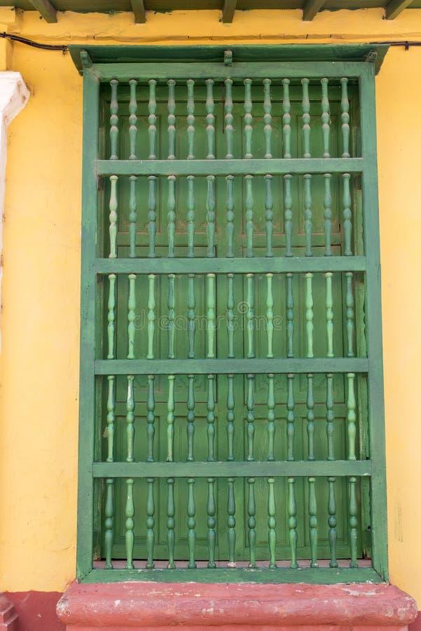 D?rr p? gator av Trinidad, Kuba royaltyfria foton