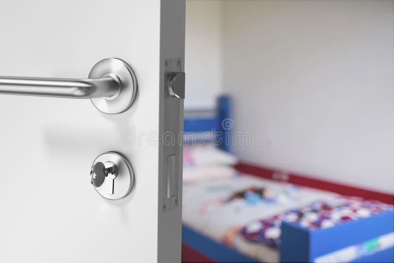dörrar öppnar royaltyfri foto