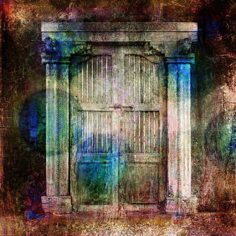 dörrar vektor illustrationer