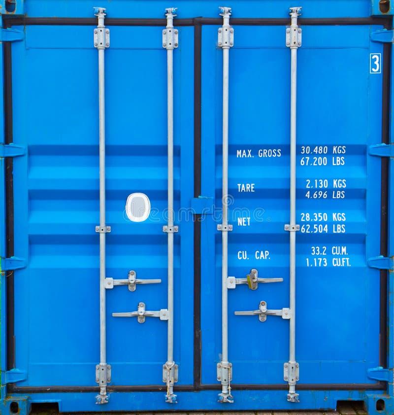 Dörrar av behållaren arkivbilder