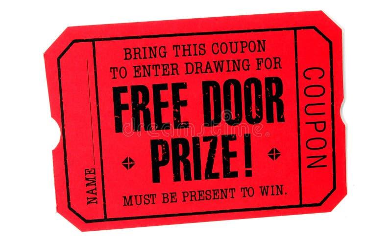 dörren frigör prisen arkivfoto